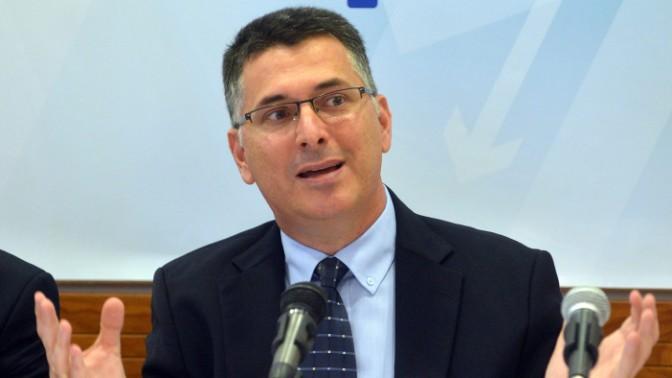 שר הפנים גדעון סער (צילום: יוסי זליגר)