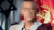 """קצין בכיר בצה""""ל (צילום מקורי: דובר צה""""ל. עיבוד: """"העין השביעית"""")"""