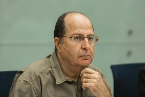 שר הביטחון, משה (בוגי) יעלון (צילום: פלאש 90)