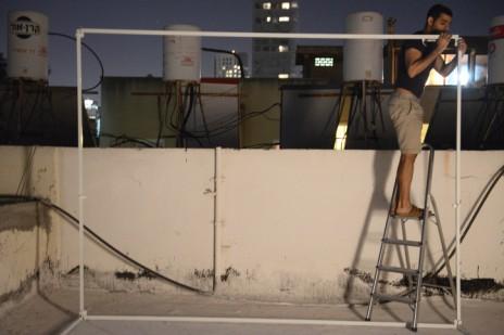 ערב סוכות, תל-אביב, 7.10.14 (צילום: דניאל שטרית)