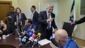ישיבת מפלגת יש-עתיד בכנסת ישראל, 27.10.14 (צילום: יונתן זינדל)