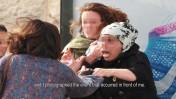 תגרה בירושלים, מתוך צילום של דורית יורדן-דותן (צילום מסך מסרטון מימון-המונים של הצלמת)