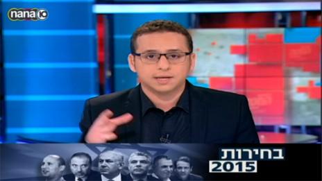 """נדב פרי, מנחה תוכנית הטלוויזיה """"המטה המרכזי"""" בערוץ 10"""