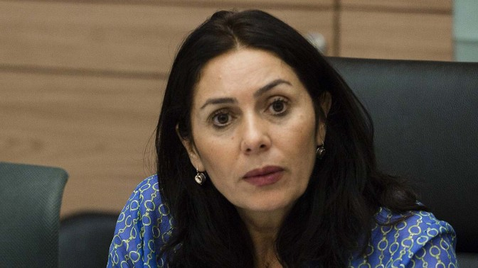 חברת הכנסת מירי רגב (צילום: פלאש 90)