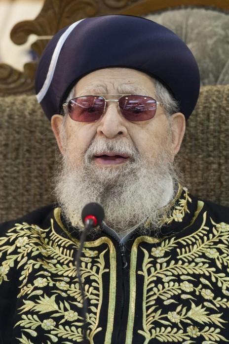 הרב עובדיה יוסף (צילום: יונתן זינדל)