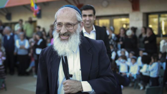 הרב שלמה אבינר (צילום: הדס פרוש)