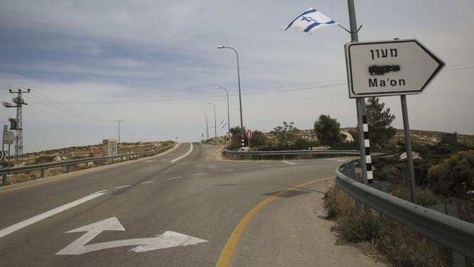 דרום הר חברון, 23.4.14 (צילום: הדס פרוש)