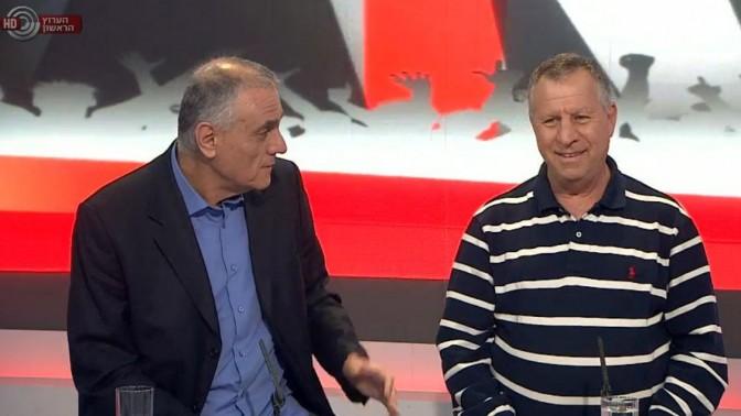 דני נוימן ואורי לוי בתוכנית הספורט בערוץ הראשון, אתמול