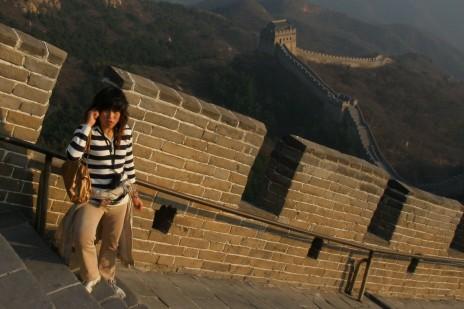 החומה הסינית, שעל שמה נקרא המונח הישראלי השגור להפרדה בין המערכת העיתונאית לאגפים המסחריים בכלי תקשורת חדשותי (צילום: חן לאופולד)