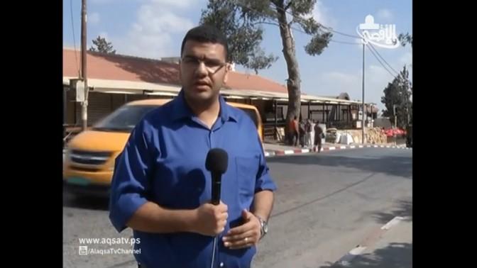 מוסטפה חואג'ה, כתב ערוץ אל-אקצא של חמאס בגדה המערבית שנעצר ועומד לדין בגין חברות בארגון טרור (צילום מסך)