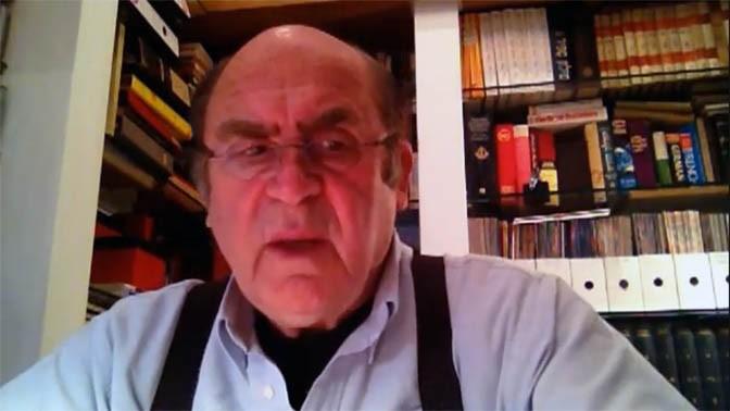 """ד""""ר יצחק נוי, מגיש """"שבת עולמית"""" ברשת ב' (צילום מסך)"""