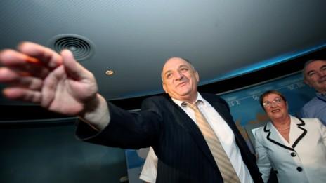 איש העסקים יצחק תשובה, 2007 (צילום: משה שי)