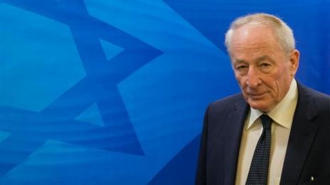 היועץ המשפטי לממשלה, יהודה וינשטיין, במשרד ראש הממשלה. 23.11.14 (צילום: אוהד צויגנברג)