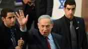 ראש הממשלה בנימין נתניהו באירוע בחירות של הליכוד, 9.2.15 (צילום: גילי יערי)