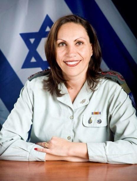 """הצנזורית הצבאית הראשית, אריאלה בן-אברהם (צילום: דובר צה""""ל)"""