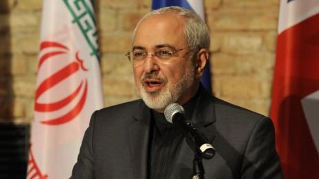 שר החוץ של איראן, מוחמד ג'וואד זריף, במהלך שיחות הגרעין בווינה, יולי 2014 (צילום: AFP Photo/Samuel Kubani, רישיון CC BY-NC-ND 2.0)