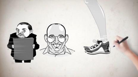מתוך סרטון של הרשימה המשותפת (צילום מסך)