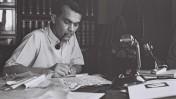 עזריאל קרליבך, 1.5.1942 (צילום: זולטן קלוגר, נחלת הכלל)