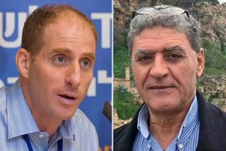 ג'אבר עסאקלה ורון גרליץ (צילומים: יחסי-ציבור ואוליביה פיטוסי)