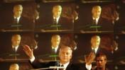 """יו""""ר הליכוד בנימין נתניהו מיד לאחר הניצחון בבחירות הכלליות לכנסת, 2.6.1996 (צילום: פלאש 90)"""