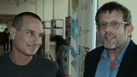 ערן טיפנברון (מימין) ויון פדר (צילום: אורן פרסיקו)