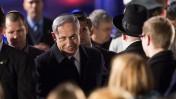 ראש ממשלת ישראל, בנימין נתניהו, בהגיעו לטקס יום השואה הממלכתי ביד-ושם. 15.4.15 (צילום: יונתן זינדל)