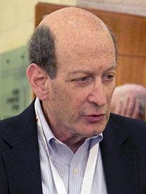 רוברט רובי, מנהל הפרסומים בפרידום-האוס, מאי 2015, ירושלים (צילום: מיכל פתאל)