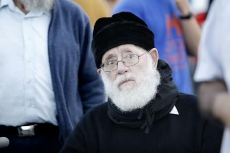 הרב משה לוינגר. חברון, 2013 (צילום: מרים אלסטר)