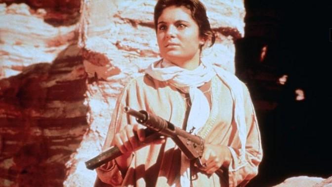"""דליה לביא בסרט """"חולות לוהטים"""", 1960"""