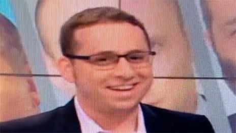 נדב פרי בערוץ 10 (צילום מסך)