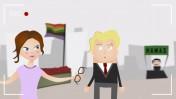 מתוך סרטון משרד החוץ נגד הכתבים הזרים בעזה (צילום מסך)