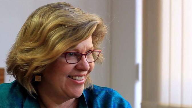 פרופ' רנה הובס (צילום מסך)
