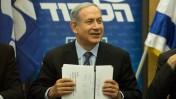 ראש ממשלת ישראל, בנימין נתניהו, בישיבה של מפלגת הליכוד. הכנסת, 11.5.15 (צילום: הדס פרוש)