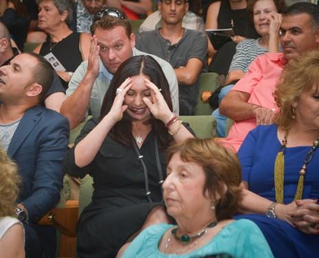 השרה מירי רגב בטקס פרסי התיאטרון, בשבוע שעבר (צילום: פלאש 90)