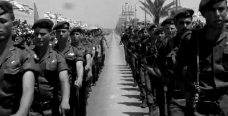 """מתוך הסרט """"שיח לוחמים ‒ הסלילים הגנוזים"""" (צילום מסך מתוך הקדימון)"""