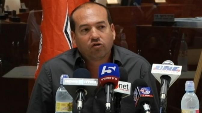מאי 2015: אייל ברקוביץ' במסיבת עיתונאים משותפת עם עיריית ראשון-לציון, עם חתימת הסכם העברת הבעלות על הפועל ראשון-לציון