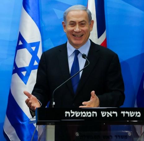 ראש הממשלה בנימין נתניהו, אתמול (צילום: אלכס קולומויסקי)