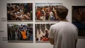 """תערוכת """"ידיעות אחרונות"""" לציון עשור לפינוי גוש קטיף, ירושלים, 21.7.15 (צילום: הדס פרוש)"""