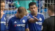 משחק הפתיחה בליגה האנגלית, צ'לסי מול סוונסי, ערוץ ספורט 1 (צילום מסך)