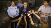 השר לביטחון פנים גלעד ארדן נותן הצהרה לתקשורת, ירושלים, 30.6.15 (צילום: יונתן זינדל)