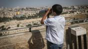 מבט להר הבית מהר הזיתים, ירושלים (צילום: נתי שוחט)