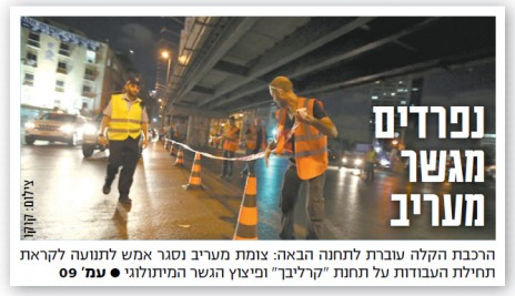"""שער """"ישראל היום"""" (פרט), היום"""