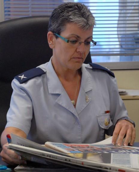"""תא""""ל סימה וואקנין-גיל, הצנזורית הצבאית הראשית (צילום: רותם סלומון)"""