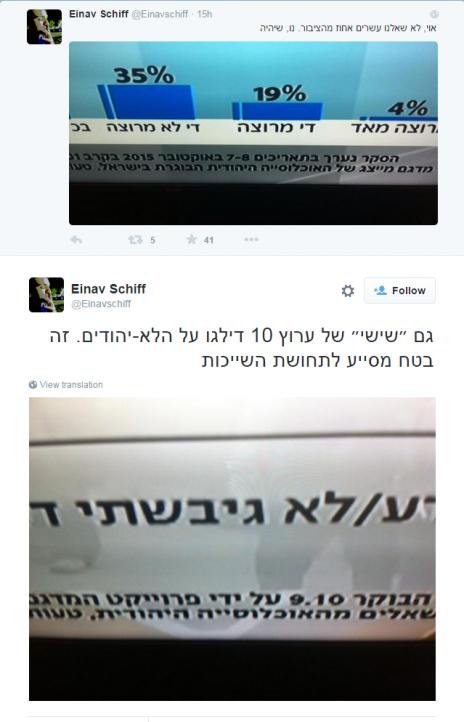 Einav Schiff on Twitter גם ״שישי״ של ערוץ 10 דילגו על הלא יהודים. זה בטח מסייע לתחושת השייכות http t.co fi8p4059Gn