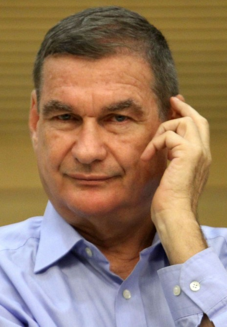 חיים רמון. הכנסת, 2012 (צילום: יואב ארי דודקביץ')