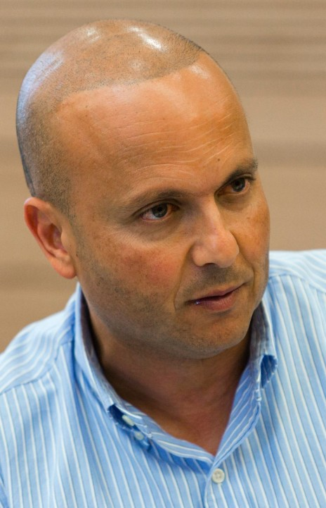 ראש עיריית אשקלון איתמר שמעוני. הכנסת, 2014 (צילום: פלאש 90)