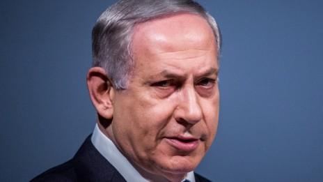 ראש הממשלה בנימין נתניהו נואם בפני הקונגרס הציוני ה-37 בירושלים, 20.10.15 (צילום: יונתן זינדל)