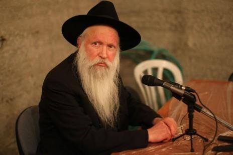 הרב יצחק גינזבורג, 2008 (צילום: קובי גדעון)