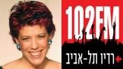 לוגו רדיו תל-אביב וג'ודי ניר-מוזס-שלום (צילום: פלאש 90)
