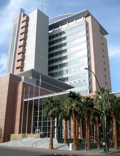 בית-המשפט המחוזי של לאס-וגאס (צילום: Coolcaesar, רשיון CC BY-SA 3.0)